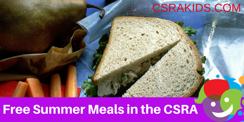 Free Summer Meals In The CSRA