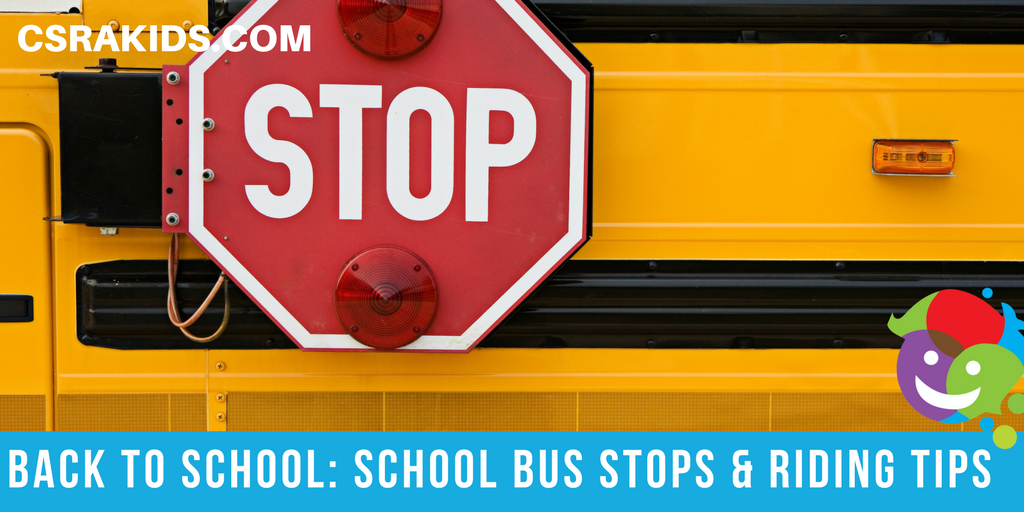 School Bus Stops and Riding Tips