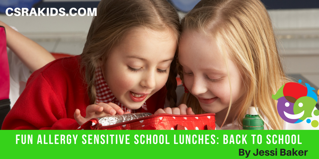 Fun Allergy Sensitive School Lunches