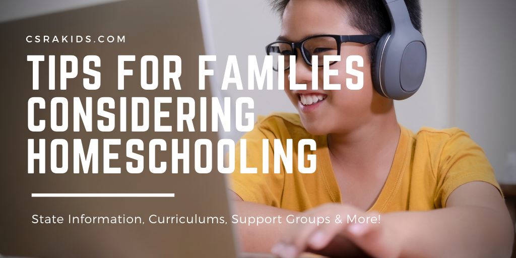 Tips For Families Considering Homeschooling