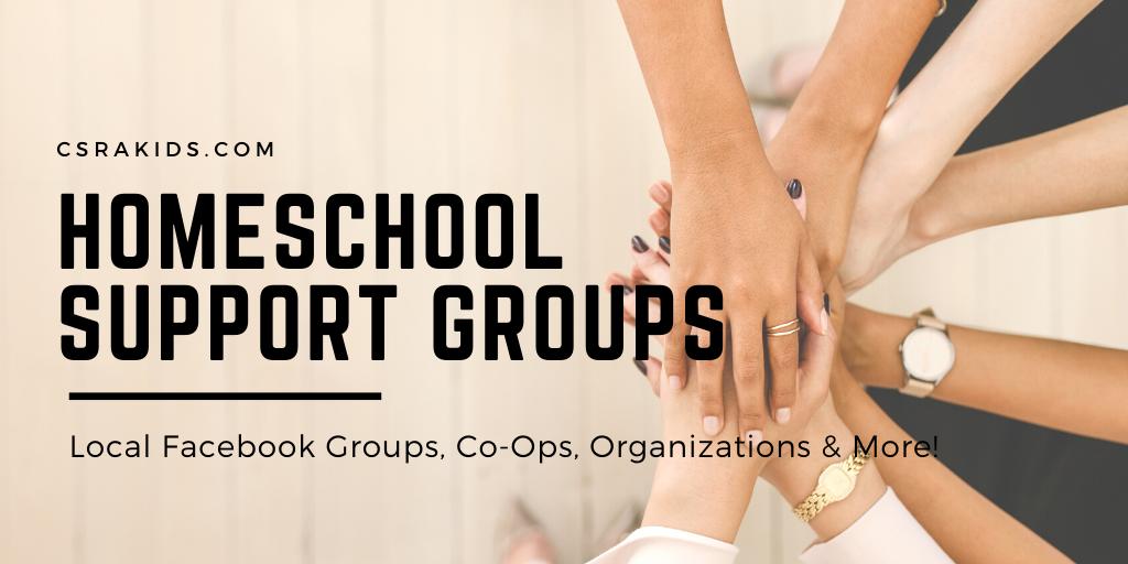 homeschool support groups