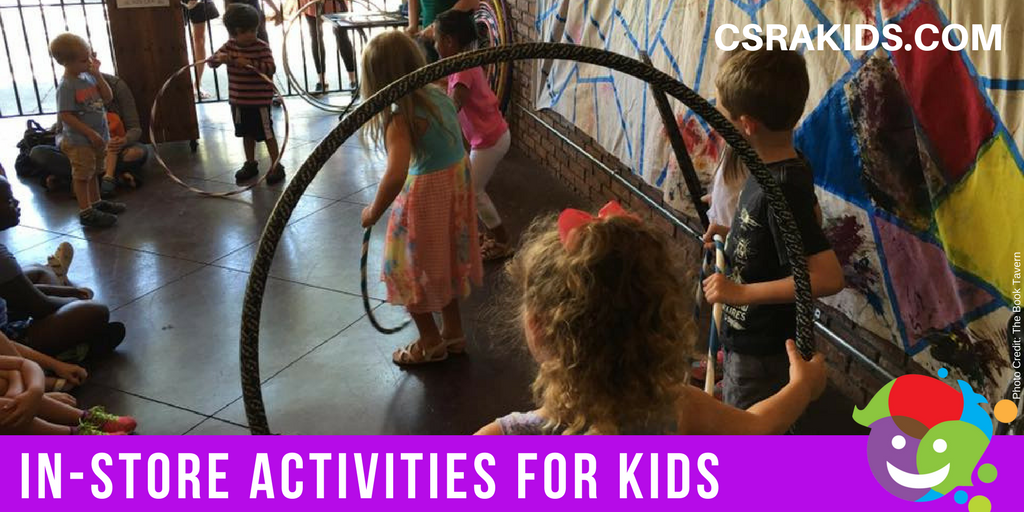 In-Store Activities for Kids