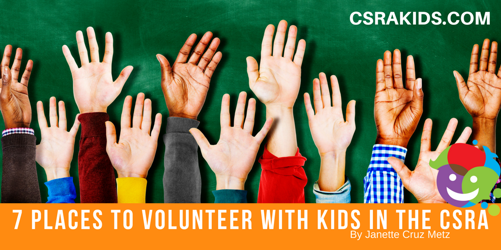7 Places to Volunteer with Kids in the CSRA