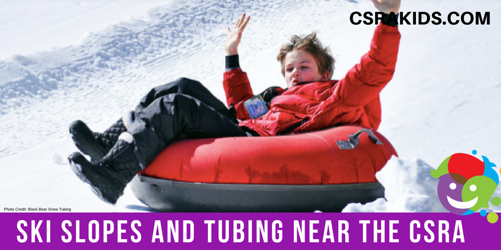 Snow Slopes and Tubing Near the CSRA
