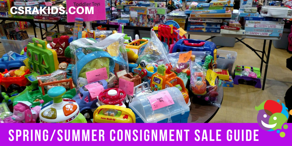Spring/Summer Consignment Sale Guide
