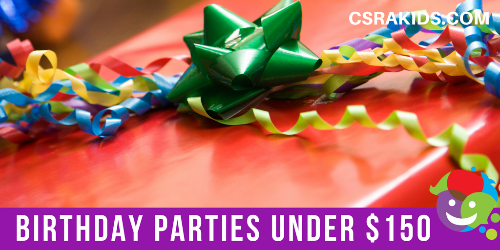 Birthday Parties Under $150