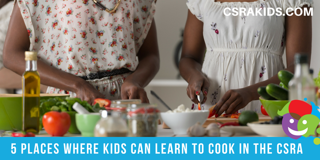 5 Places Where Kids Can Learn to Cook in the CSRA