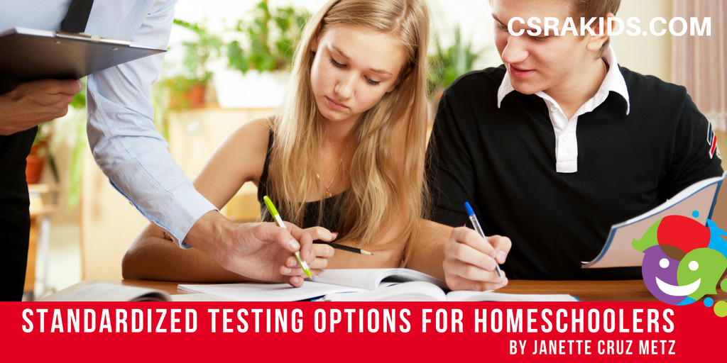 Standardized Testing Options for Homeschoolers