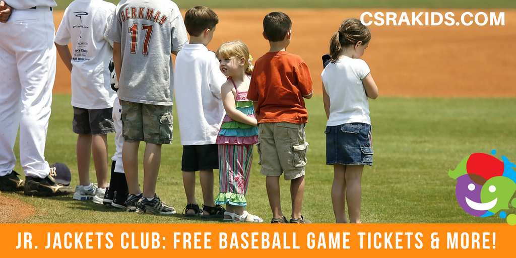 Jr. Jackets Club: Free Baseball Game Tickets and More!