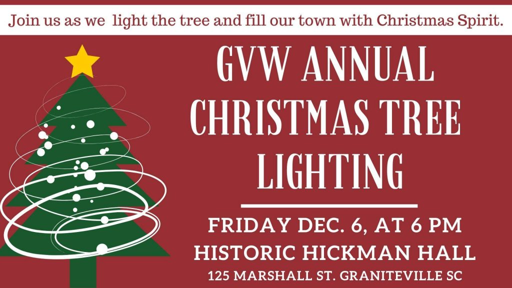 Annual Christmas Tree Lighting Graniteville