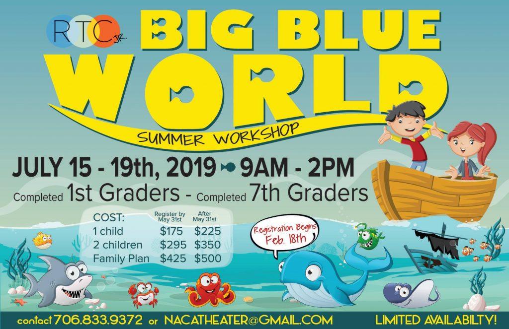Big Blue World Summer Theatre Workshop