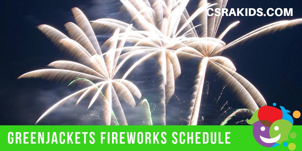 Greenjackets Fireworks