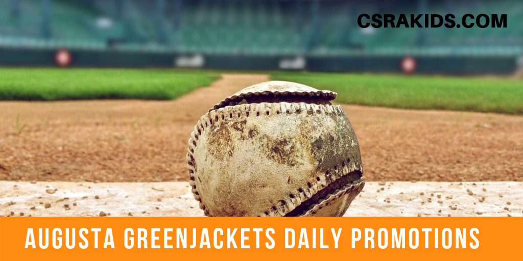 augusta greenjackets daily promotions