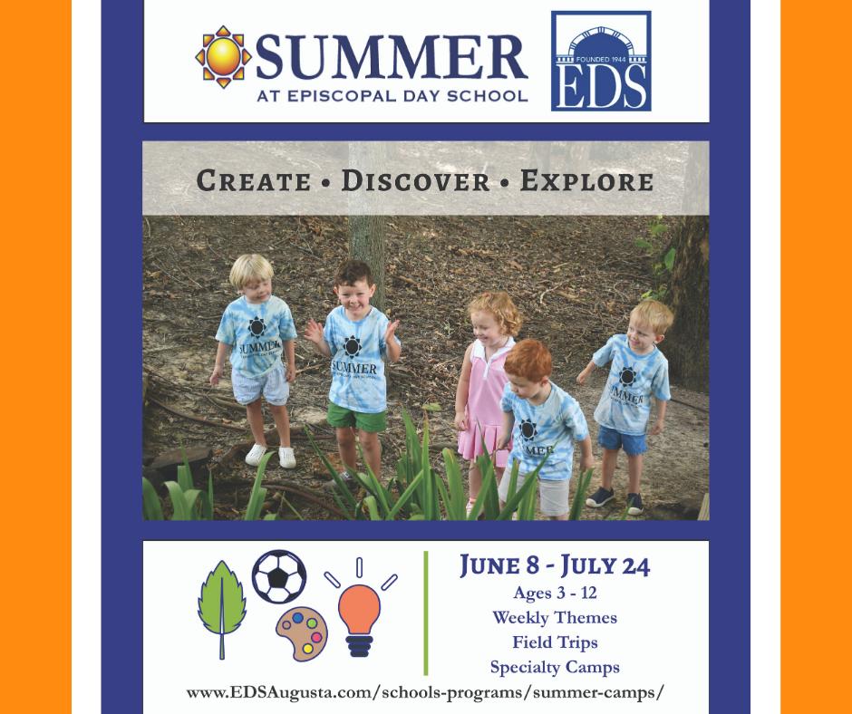 Summer at Episcopal Day School Camp