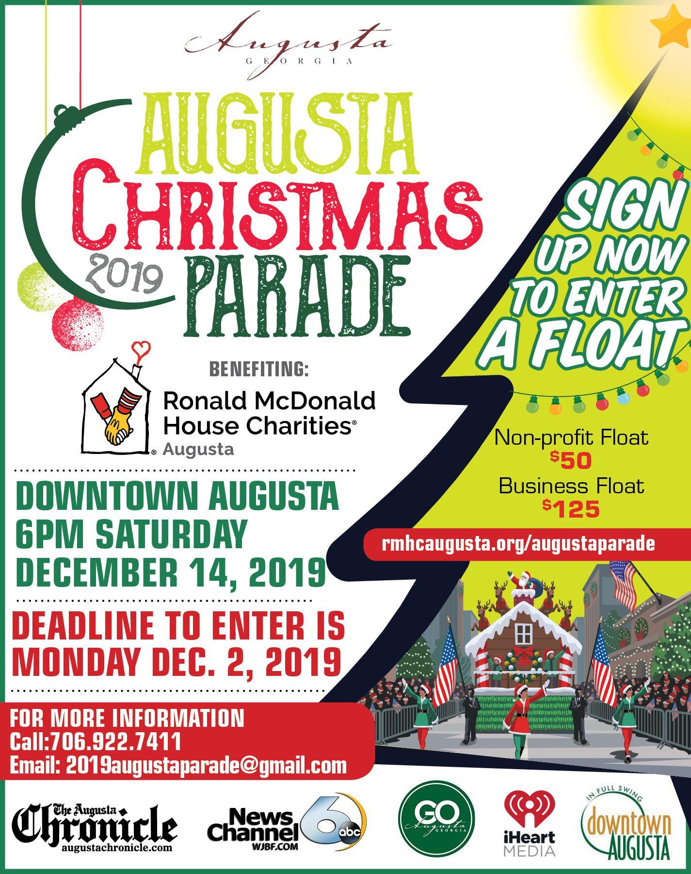Augusta Christmas Parade 2021 Augusta Christmas Parade Csra Kids Augusta Ga