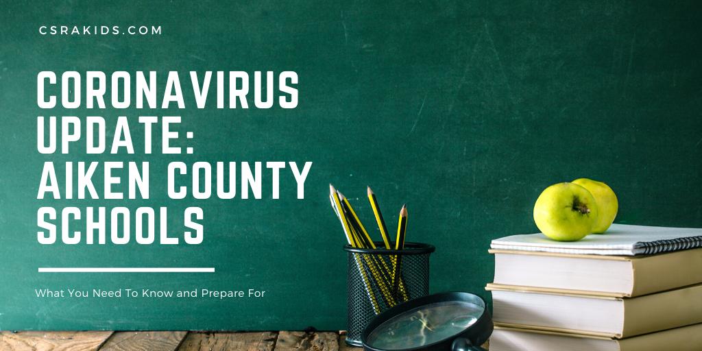 Coronavirus Update Aiken County Schools