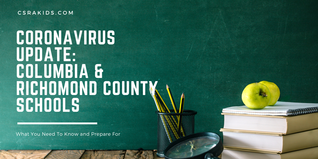 Coronavirus Update Richmond and Columbia County Schools