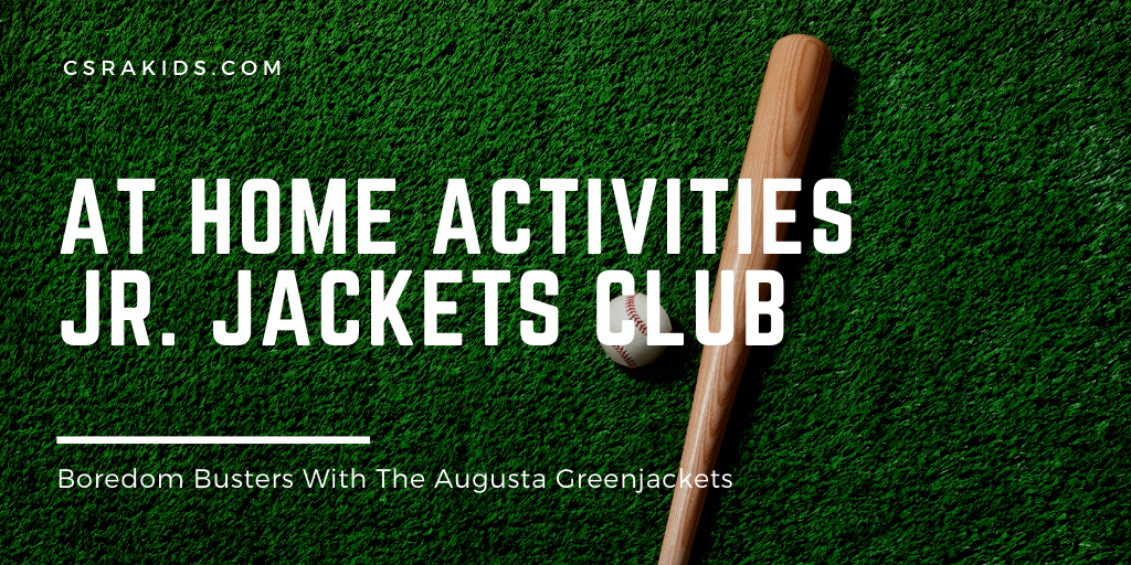 Stay at home activities jr. jackets club