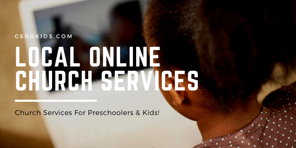 local online church services for kids
