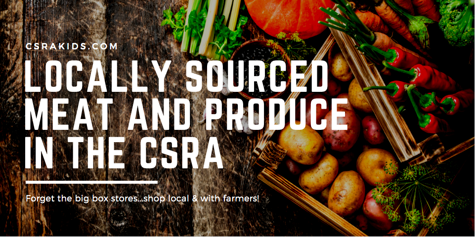 locally sourced meat and produce in the csra