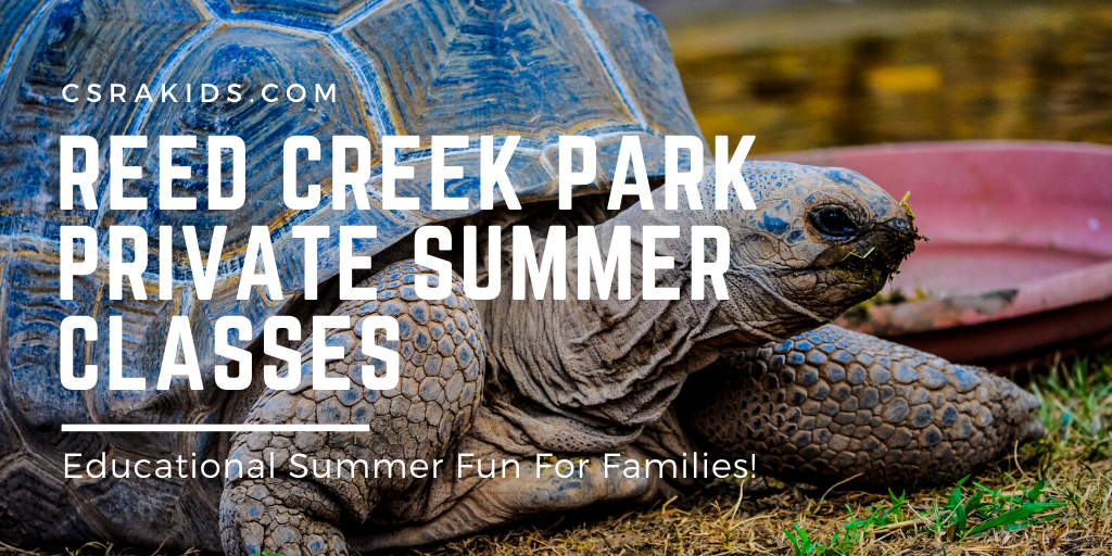 Reed Creek Park Offering Private Family Summer Classes