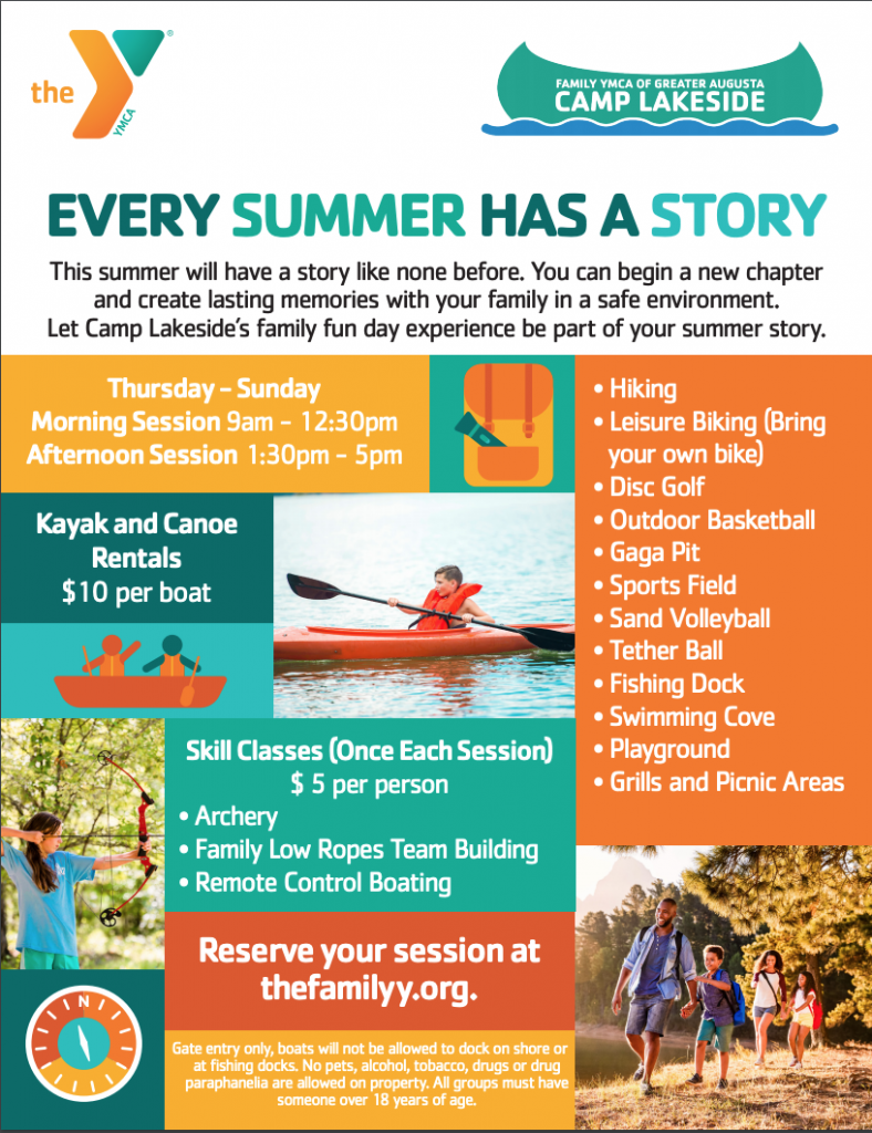 YMCA Camp Lakeside - Family Day Experience