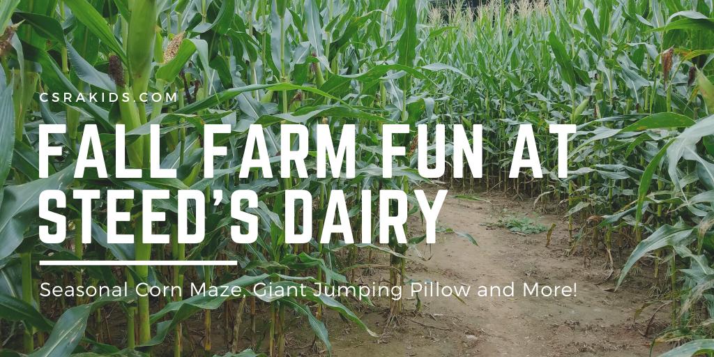 Fall Farm Fun at Steed's Dairy