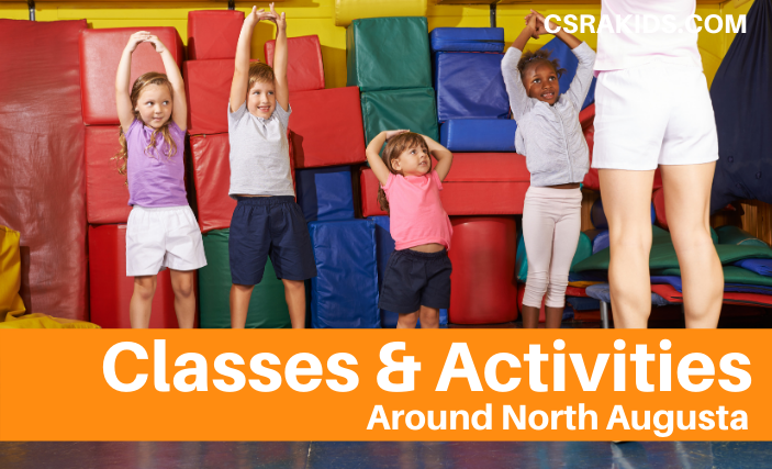 classes and activities north augusta