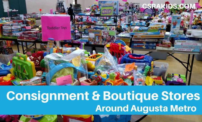 Consignment Sales & Children Boutiques Augusta GA