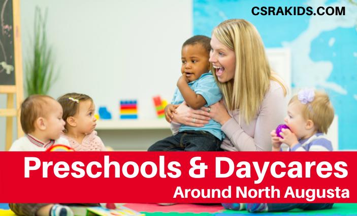 preschools and daycares north augusta