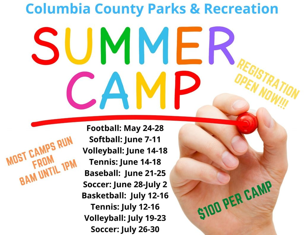 Columbia County Summer Camps